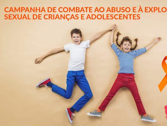 Maio Laranja - Combate ao Abuso e à Exploração Sexual de Crianças e Adolescentes.